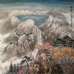 长白天池-董双武